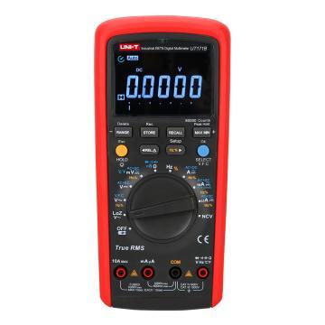 优利德/UNI-T UT171B工业级校验型数字万用表,真有效值,四位半,电导可测