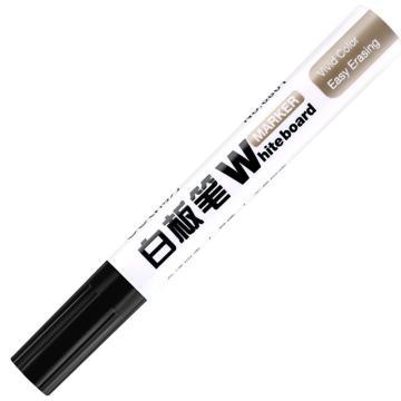 得力白板笔,6801(黑色)10支/盒