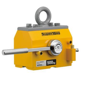 KITO磁铁吊 扁钢起吊,最大工作载荷(kg):500,KRL50