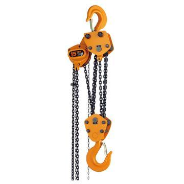 KITO手拉链葫芦 额定载重(T):15,标准起升高度(M):3.5,CB150