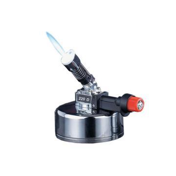 电子本生灯,座式;45度倾角火焰,最高温度:1300度,D220