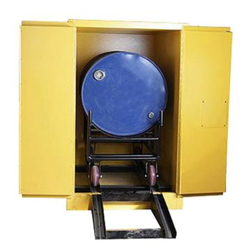 SYSBEL卧式油桶安全存储柜,双门、手动,76.2x127x121.9cm,WA810550H