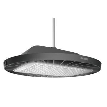 飞利浦,120W,LED天棚灯,4000K,宽光,固定输出,IP65/IK07,BY698P,LED160,PSU,NW,WB