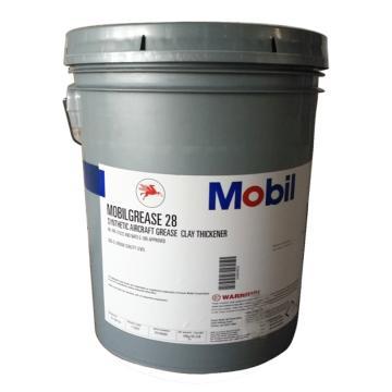 美孚 润滑脂,Mobilgrease 28,16KG/桶