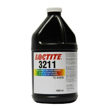 乐泰光固化胶,Loctite 3211UV,1L