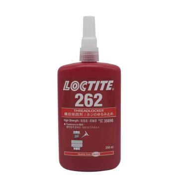 乐泰螺纹锁固剂,Loctite 262高强度,250ML
