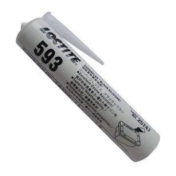 乐泰硅橡胶平面密封剂,Loctite 593,300ML