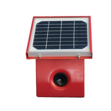 金能语音仿真超声波驱鸟器 360*340*320mm,金属外壳,超声波+强光频闪+语音+雷达拾音器探测+太阳能供电:有效工作半径30-50m
