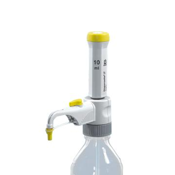 BRAND Dispensette® S Organic有机型瓶口分液器,固定量程型,10ml,含有SafetyPrime安全回流阀