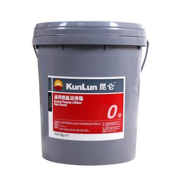 昆仑0号通用锂基脂,15KG