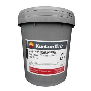 昆仑0号二硫化钼锂基脂,15KG