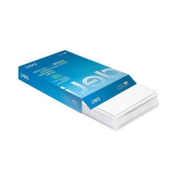 得力7418莱茵河复印纸80g/A3 500张/包 5包/箱 白