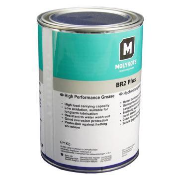 摩力克 通用型轴承脂,MOLYKOTE BR2 PLUS,1KG/罐