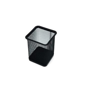 晨光 M&G 金属笔筒,ABT98402 方形(黑色)单个