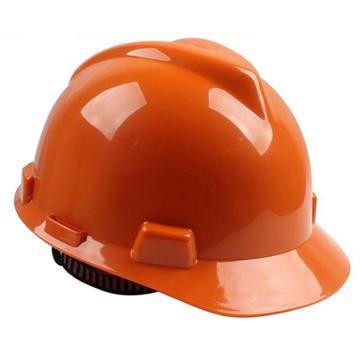 MSA 10172891 V-Gard ABS标准安全帽,橙(超爱戴),正面印国电logo(国电定制款)同系列30顶起订