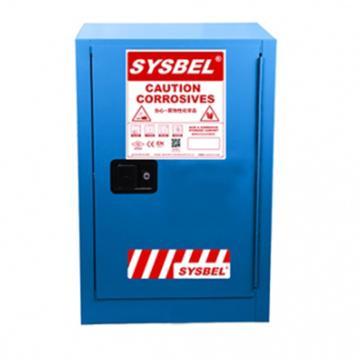 SYSBEL/西斯贝尔 弱腐蚀性液体安全存储柜,FM认证,12加仑/45升,蓝色/手动,不含接地线, WA810120B