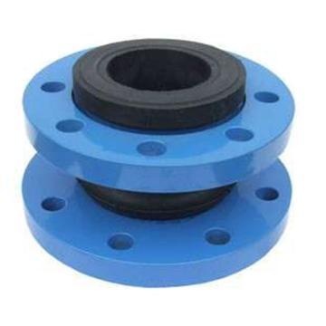 西域推荐 避震喉,DN250 PN16,法兰链接,法兰材质:铸铁,软连接材质:橡胶,长度:235mm