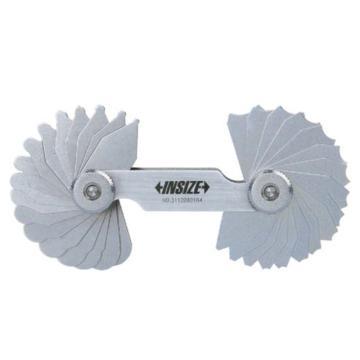 INSIZE 半径规,1-7mm,4801-17