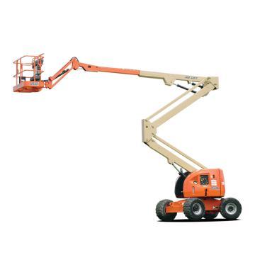 JLG 电动及混合动力臂式高空作业平台,平台最大高度(m):13.72,额定载重(kg):227,型号 E450AJ