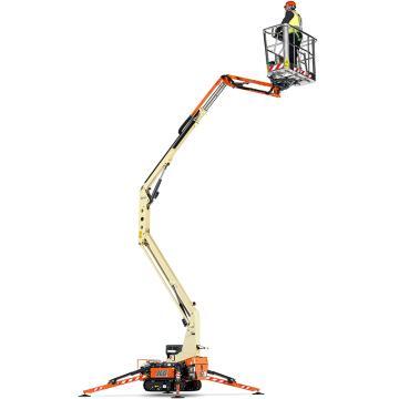 JLG 紧凑履带型臂式高空作业平台,平台最大高度(m):11.8,额定载重(kg):120,型号 X14J