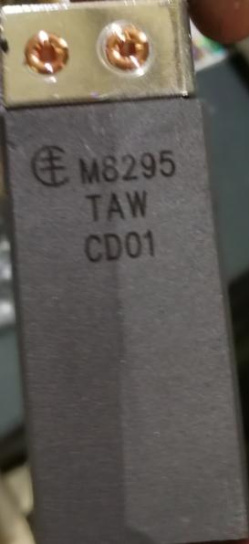 美尔森/MERSEN接地碳刷,M8295 规格:25X12.5X64mm