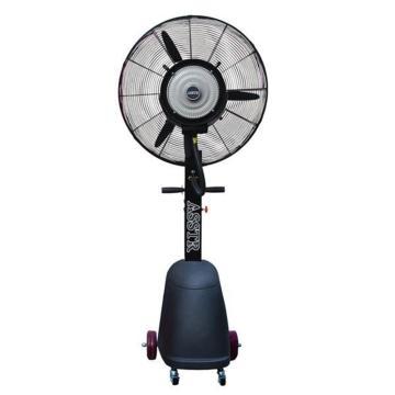 ASSTR 立式移动型降温喷雾工业风扇 AST-05,黑色椭圆水箱