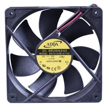 ADDA 散热风扇 AD1212HB-A71GL,DC12V,120×120×25mm
