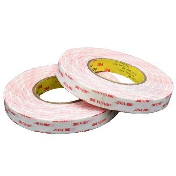 3M VHB胶带,  白色 宽度20mm 长度33m