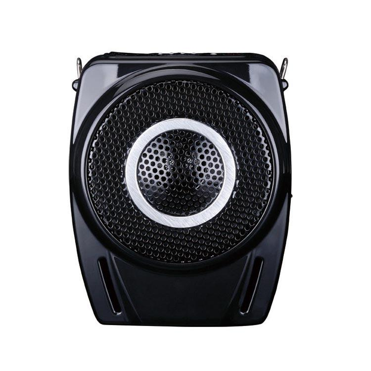 Takstar/得胜 E8M 有线扩音器MP3扩音机U盘喊话器大功放18W喇叭 黑色