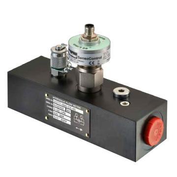 派克Parker 流量传感器,带内置温度传感器,Flow sensor,SCFTT-600-C2-05