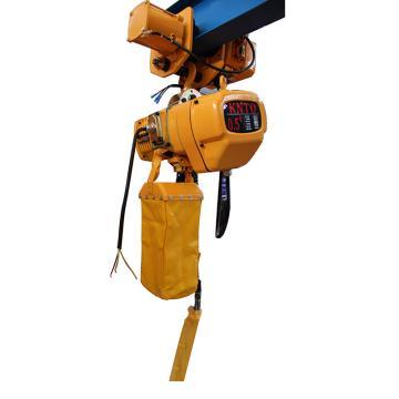 起泽环链电动葫芦 运行式,380V HHBD-0.5T*3米 7.8M/min