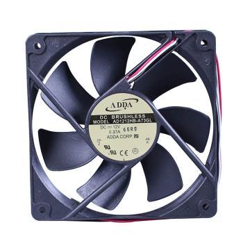 ADDA 散热风扇 AD1212HB-A73GL,DC12V,120×120×25mm