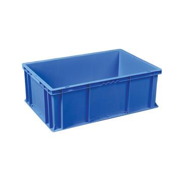 环球 周转箱,尺寸(mm):600*400*215,蓝色,不含箱盖
