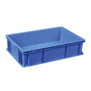 环球 周转箱,尺寸(mm):600*400*150,蓝色,不含箱盖