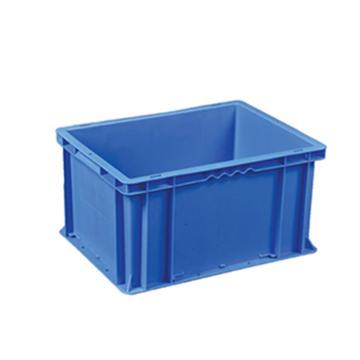 环球 周转箱,尺寸(mm):400*300*215,蓝色,不含箱盖