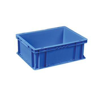 环球 周转箱,尺寸(mm):400*300*150,蓝色,不含箱盖