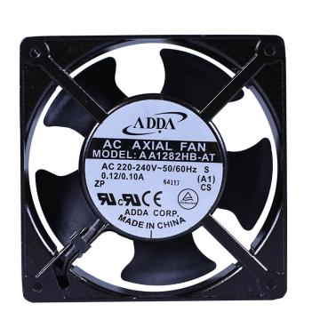 ADDA 散热风扇 AA1282HB-AT,AC220V,120×120×38mm