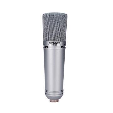 Takstar/得胜 SM-10B-L 录音麦克风 电容话筒网络K歌专业录音话筒