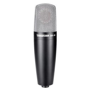 得胜(Takstar)录音麦克风,电容话筒网络K歌专业录音话筒 SM-5B-M 单位:套