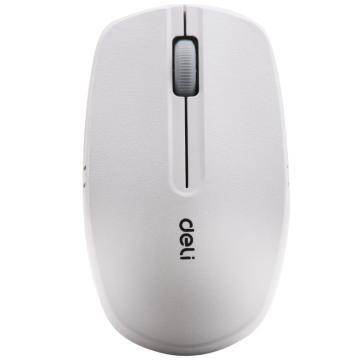 得力(deli) 无线鼠标(白色),3738
