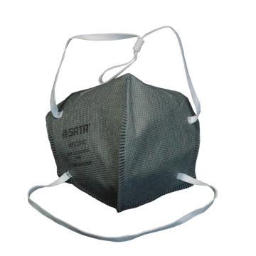 头戴式KN95活性炭折叠口罩