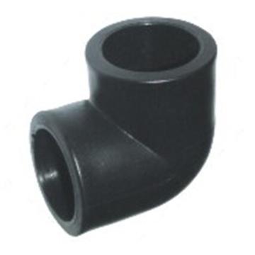 万鑫军联/WXJL HDPE给水管材(承插) 等径90度弯头,L40,PN16