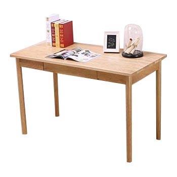 北欧童话 日式实木书桌, 1.2x60x75cm