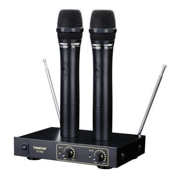 得胜(Takstar)无线麦克风,卡拉ok家用演唱K歌一拖二话筒 TS-3360 单位:台