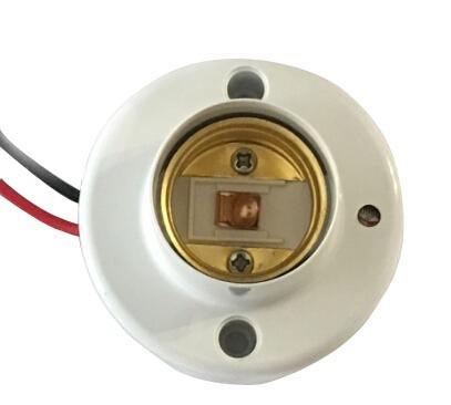华采 声光控E27灯头(适用于100W以下白炽灯、30W以下的LED灯泡和节能灯)