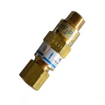 工字回火防止器,HF-P2氧气,装在减压器上