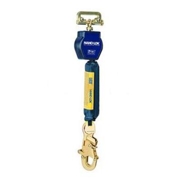 逃生缓降器,PROTECTA小型速差器,热塑外壳,长度1.8米,织带配钢制抓钩和安全带连接件,3101228