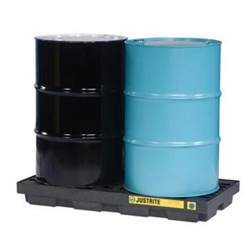 杰斯瑞特JUSTRITE 两桶盛漏平台,无插槽,不可配叉车,28655