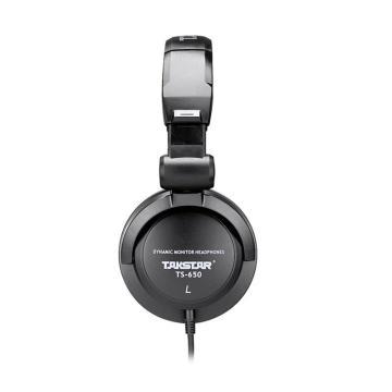 得胜(Takstar) 监听耳机,头戴式电脑音乐网络K歌录音耳机TS-650 单位:台