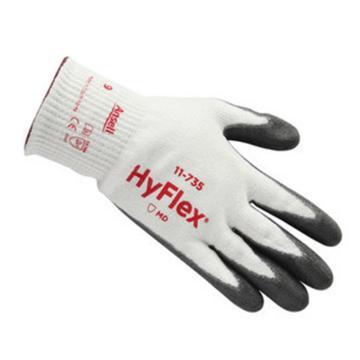 安思尔Ansell 5级防割手套,11-735-7,HyFlex防割手套